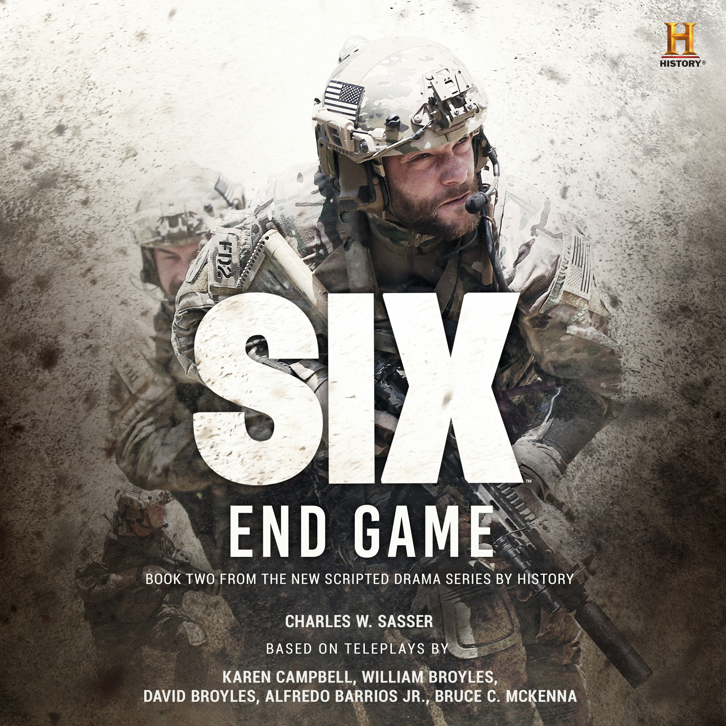 Printable Six: End Game Audiobook Cover Art