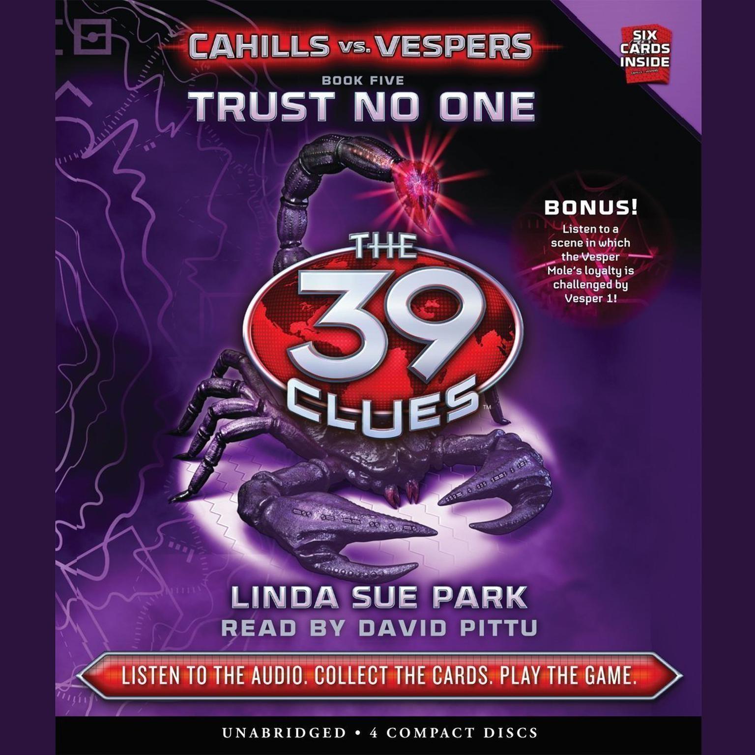Trust No One Audiobook, by Linda Sue Park