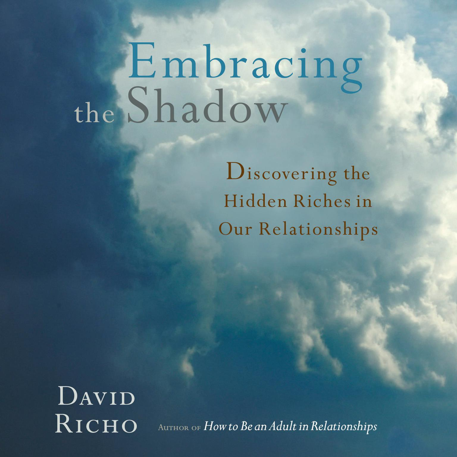 Printable Embracing the Shadow: Discovering the Hidden Riches in Our Relationships Audiobook Cover Art