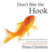 Dont Bite the Hook: Finding Freedom from Anger, Resentment, and Other Destructive Emotions Audiobook, by Pema Chödrön