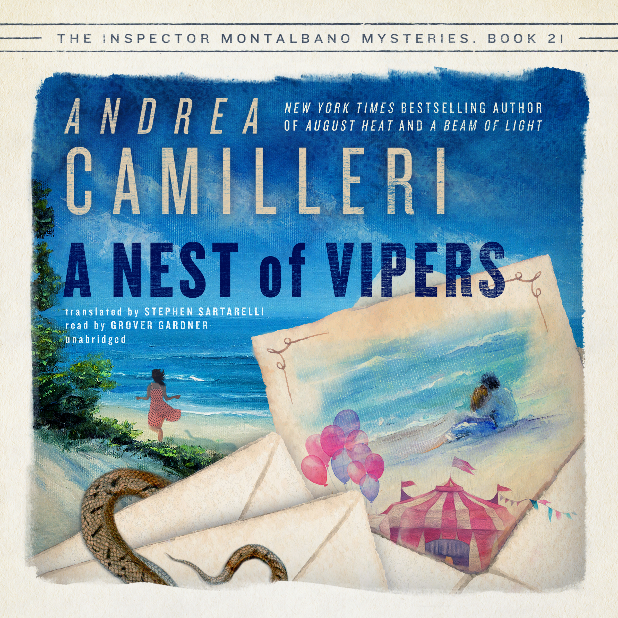 Printable A Nest of Vipers Audiobook Cover Art