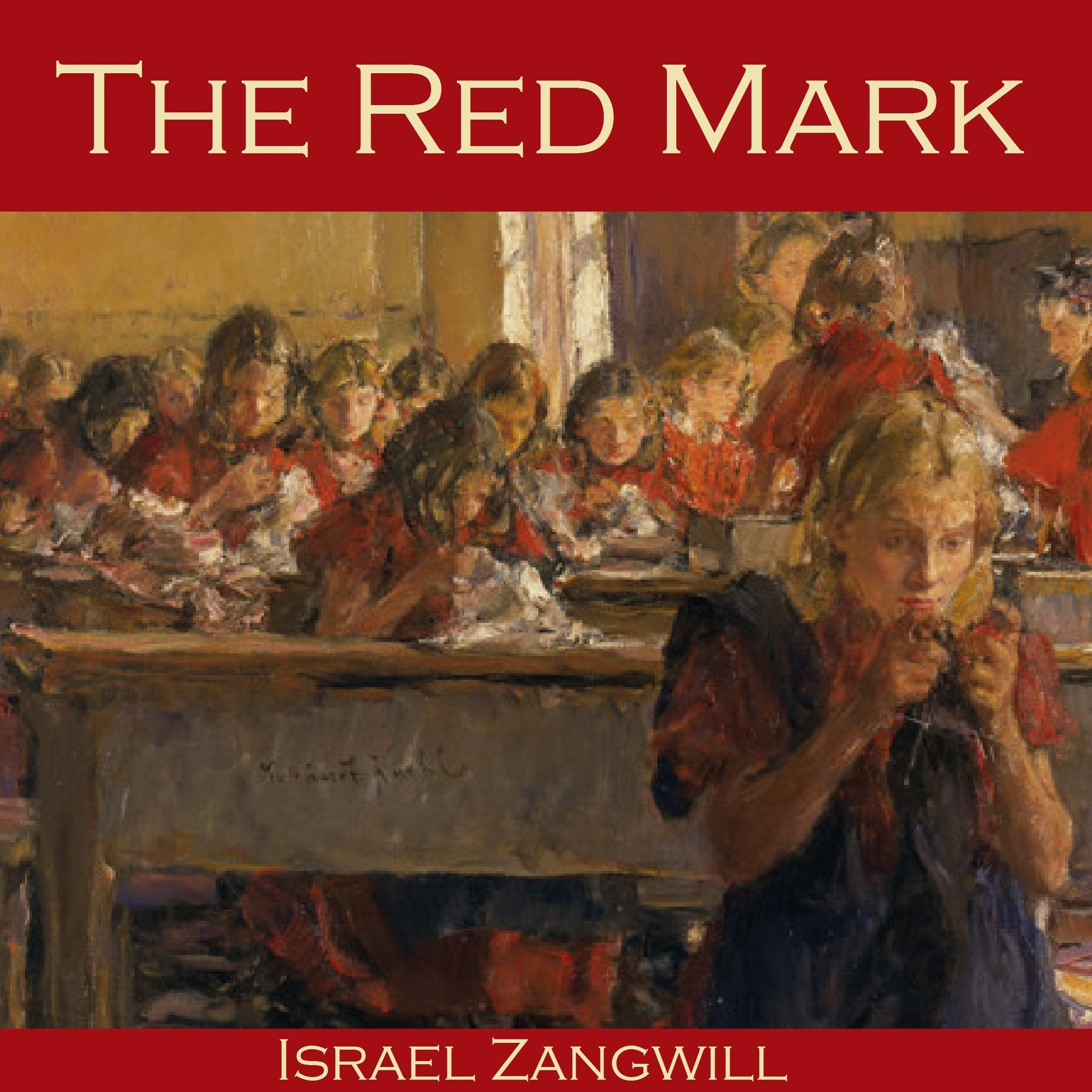 Printable The Red Mark Audiobook Cover Art