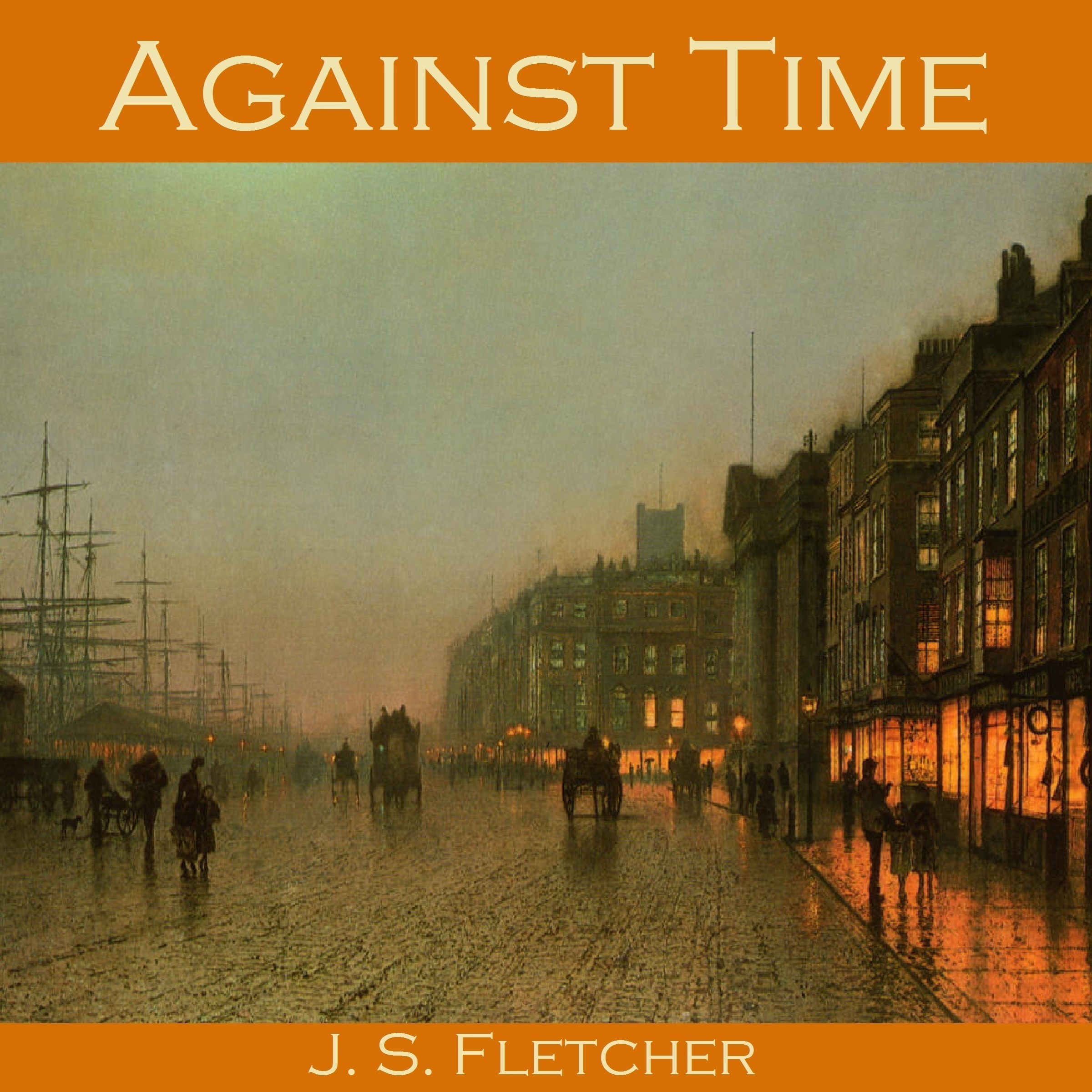 Printable Against Time Audiobook Cover Art