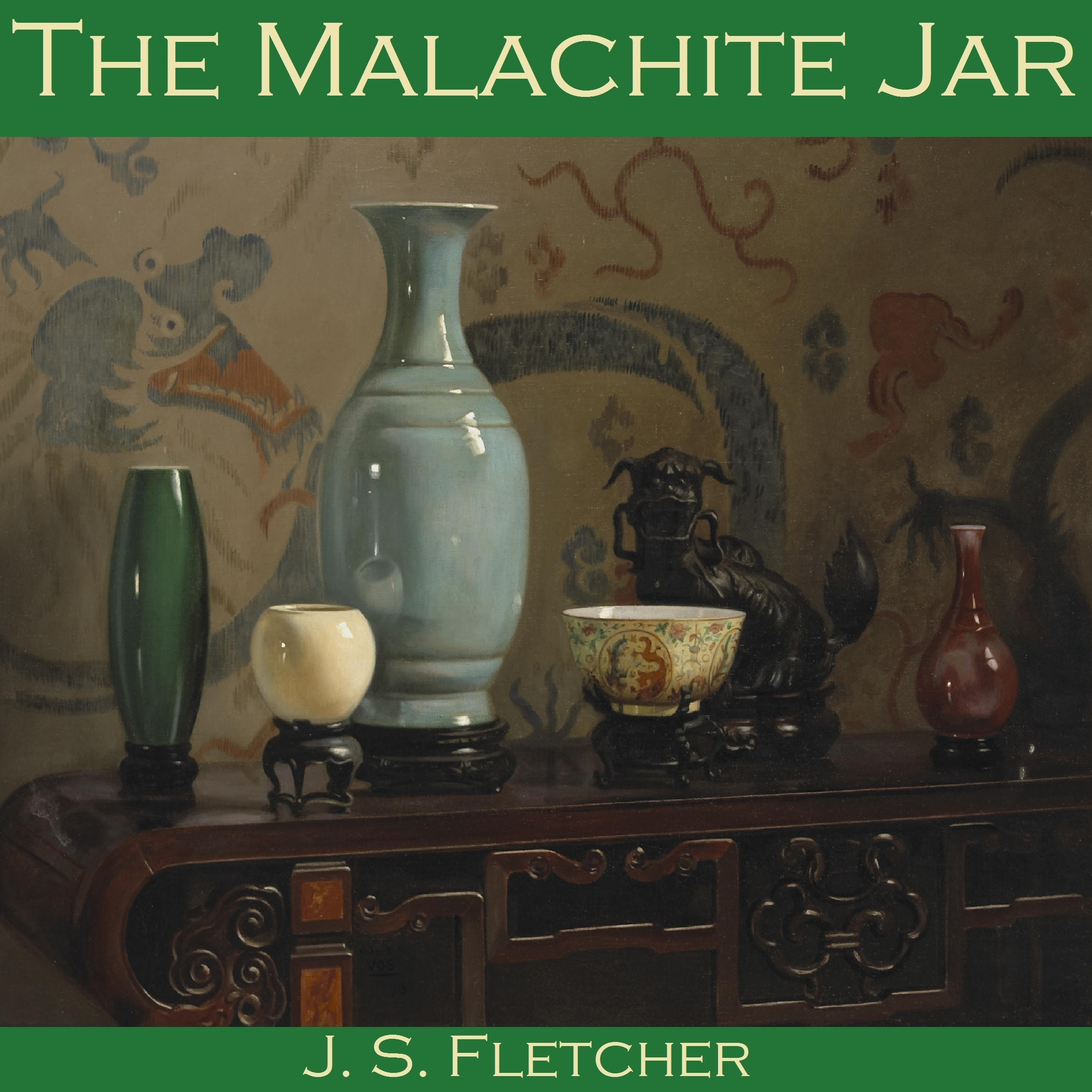 Printable The Malachite Jar Audiobook Cover Art