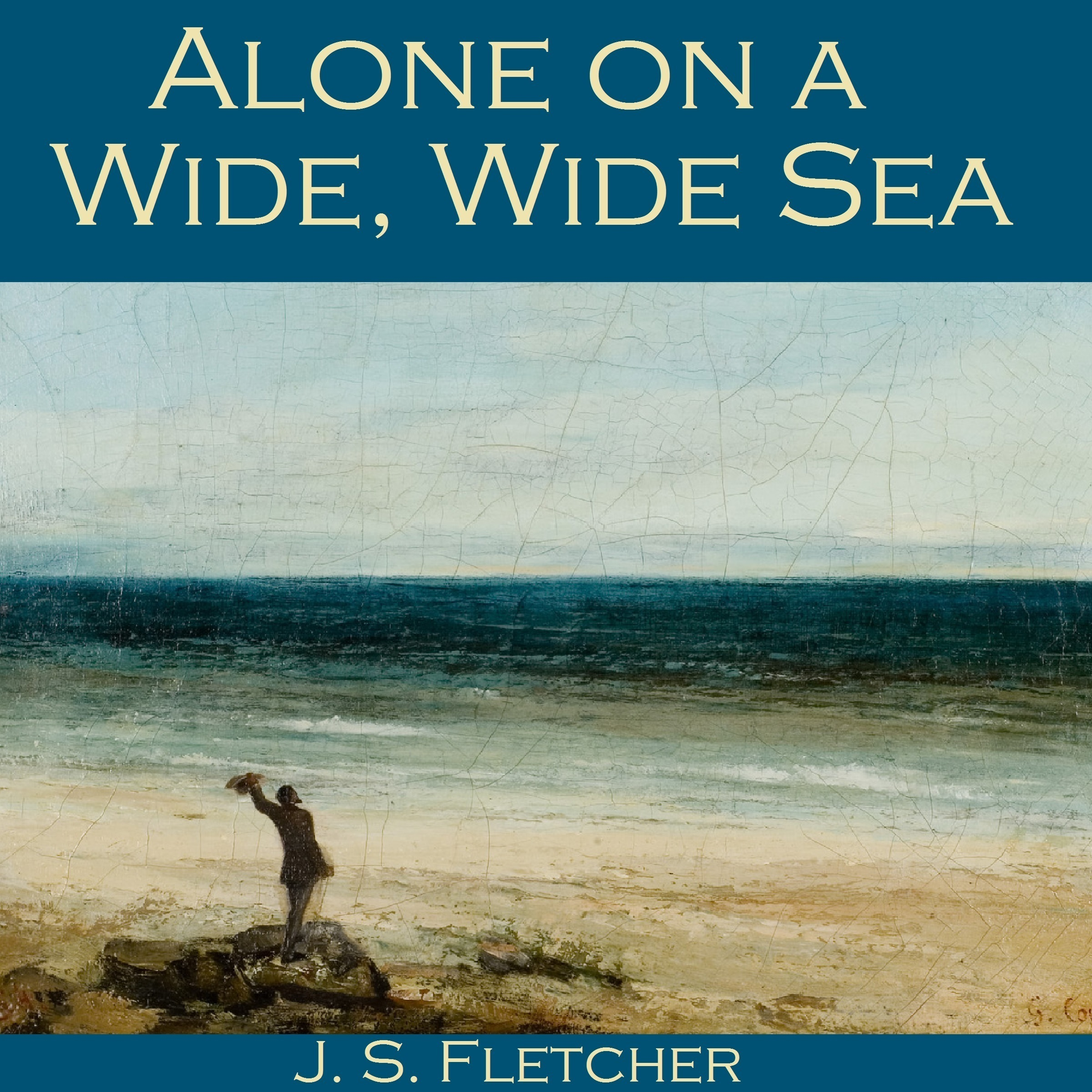 Printable Alone on a Wide, Wide Sea Audiobook Cover Art