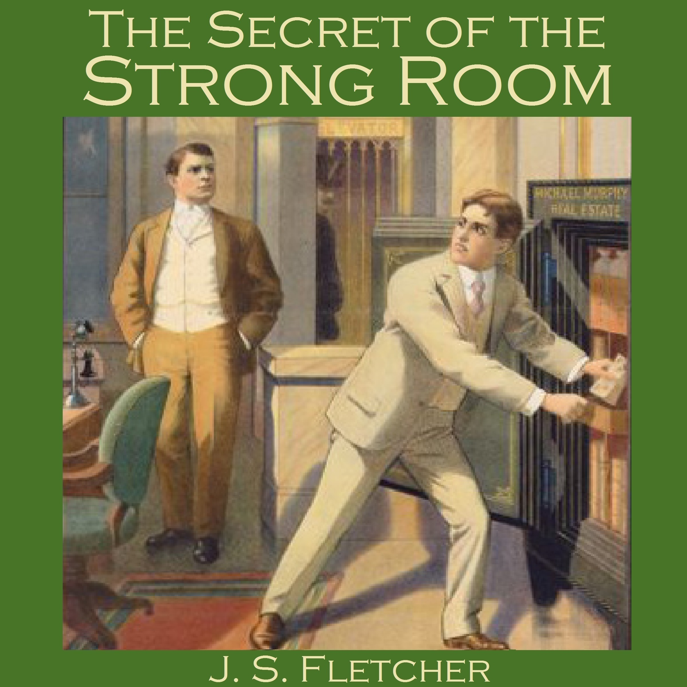Printable The Secret of the Strong Room Audiobook Cover Art