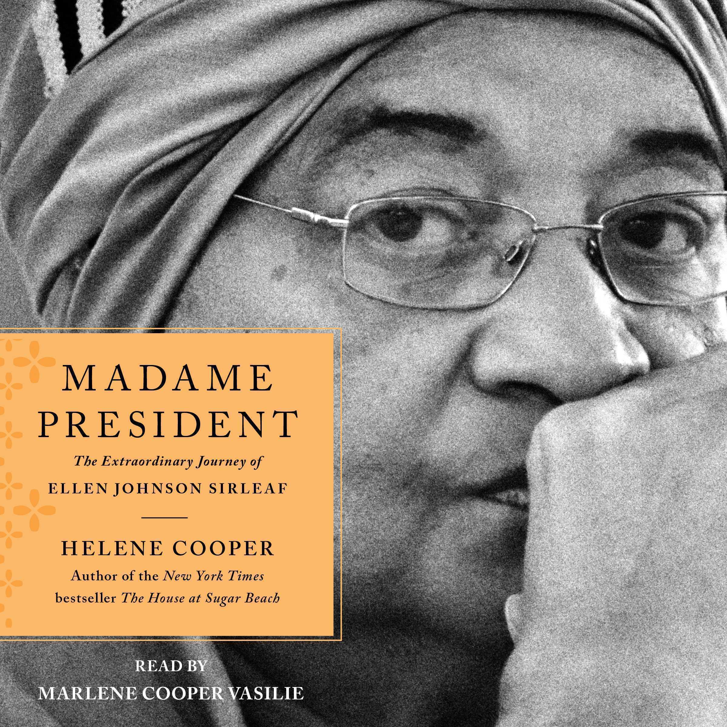 Printable Madame President Audiobook Cover Art