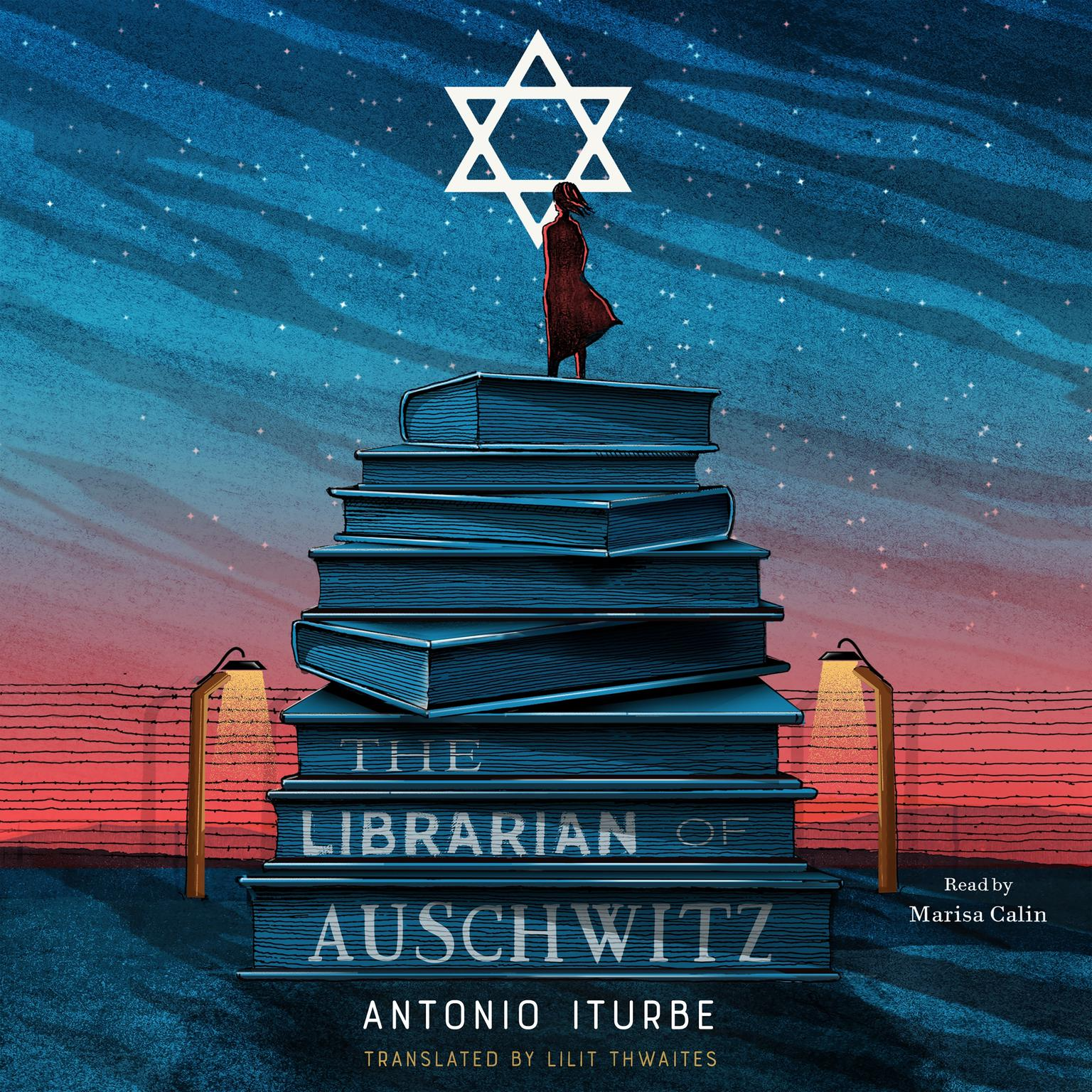 Printable The Librarian of Auschwitz Audiobook Cover Art