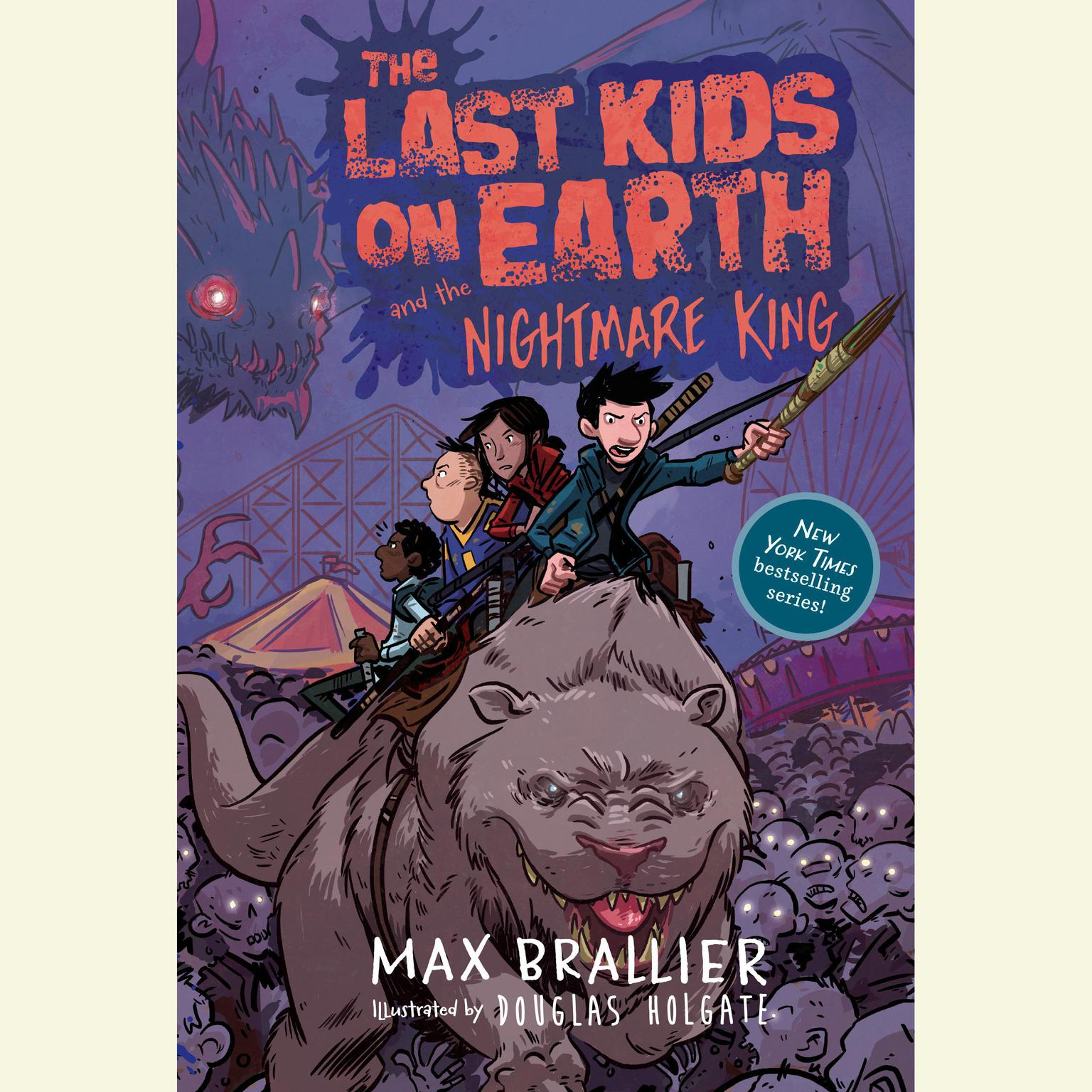 Printable The Last Kids on Earth and the Nightmare King Audiobook Cover Art