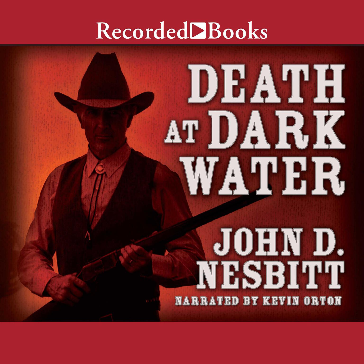 Printable Death at Dark Water Audiobook Cover Art