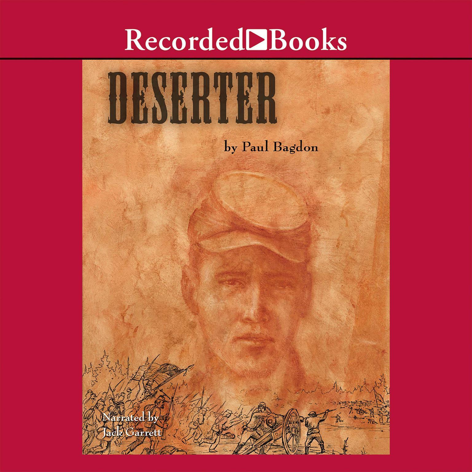 Printable The Deserter Audiobook Cover Art