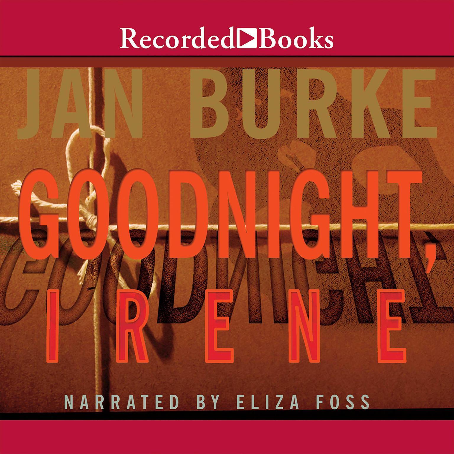 Printable Goodnight, Irene Audiobook Cover Art