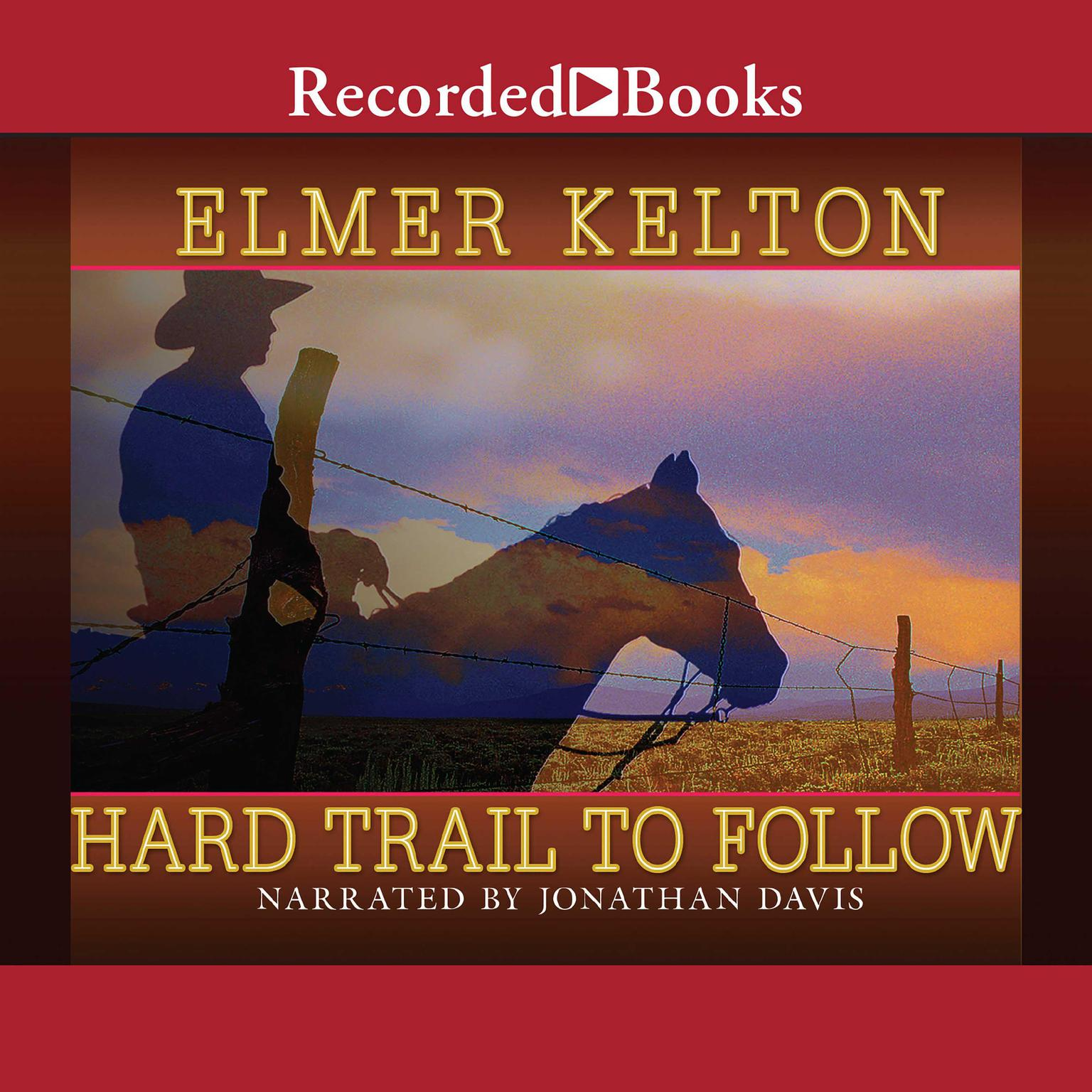 Printable Hard Trail to Follow Audiobook Cover Art