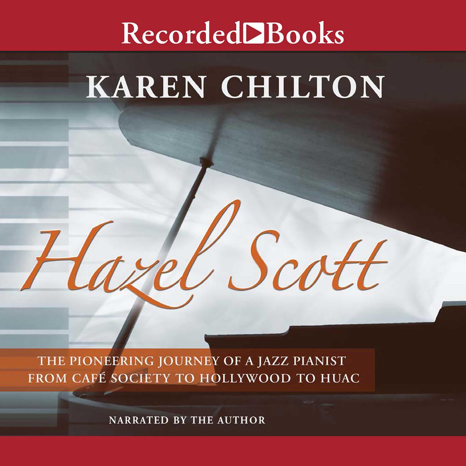 Printable Hazel Scott: Pioneering Journey of a Jazz Pianist Audiobook Cover Art