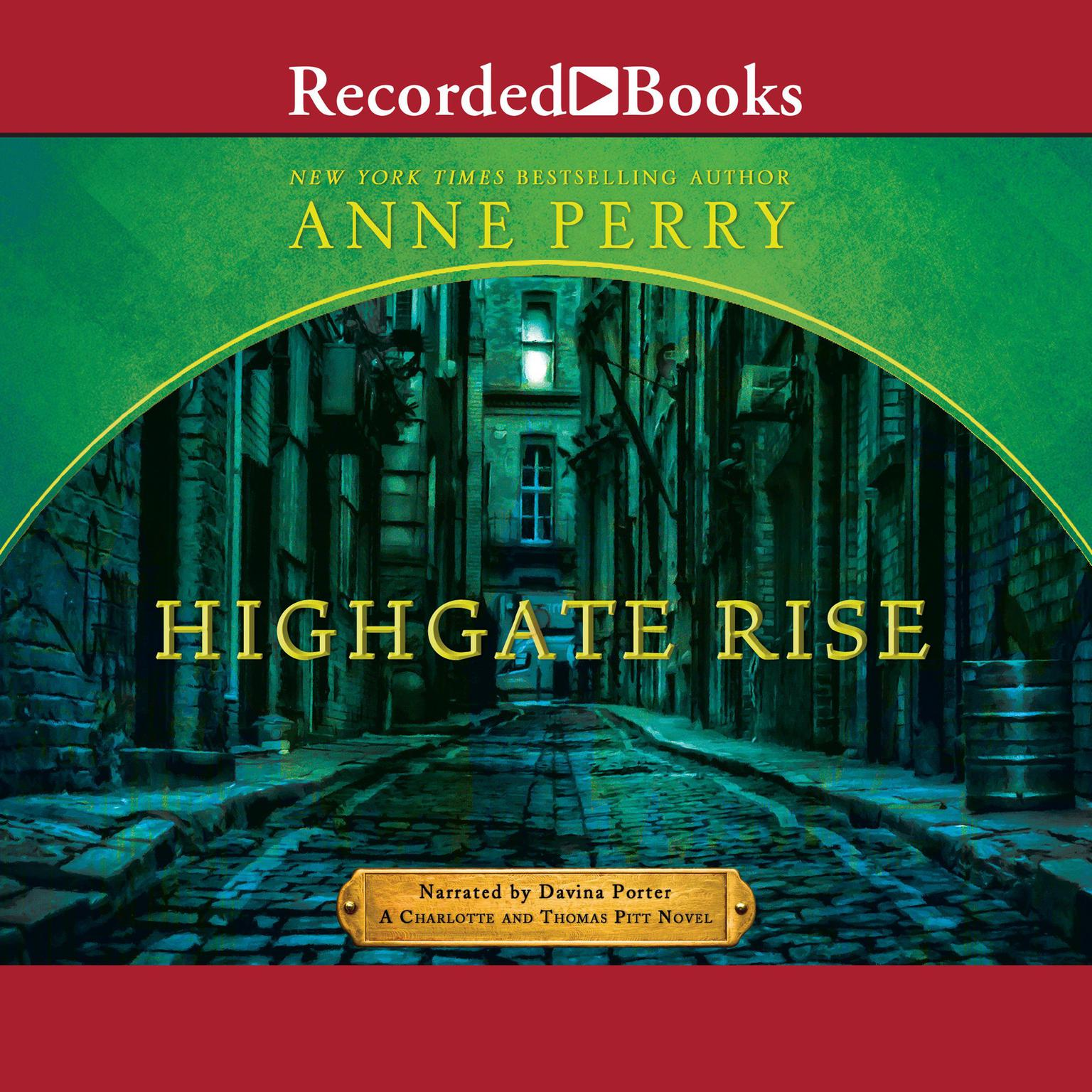 Printable Highgate Rise Audiobook Cover Art