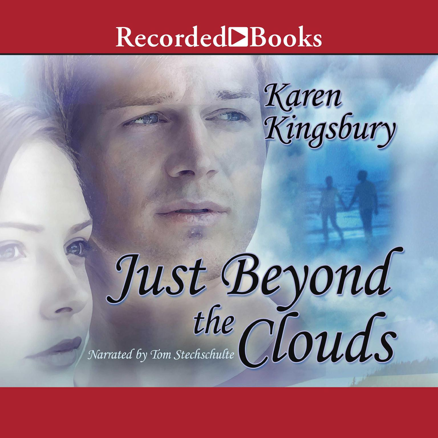 Printable Just Beyond the Clouds: A Novel Audiobook Cover Art