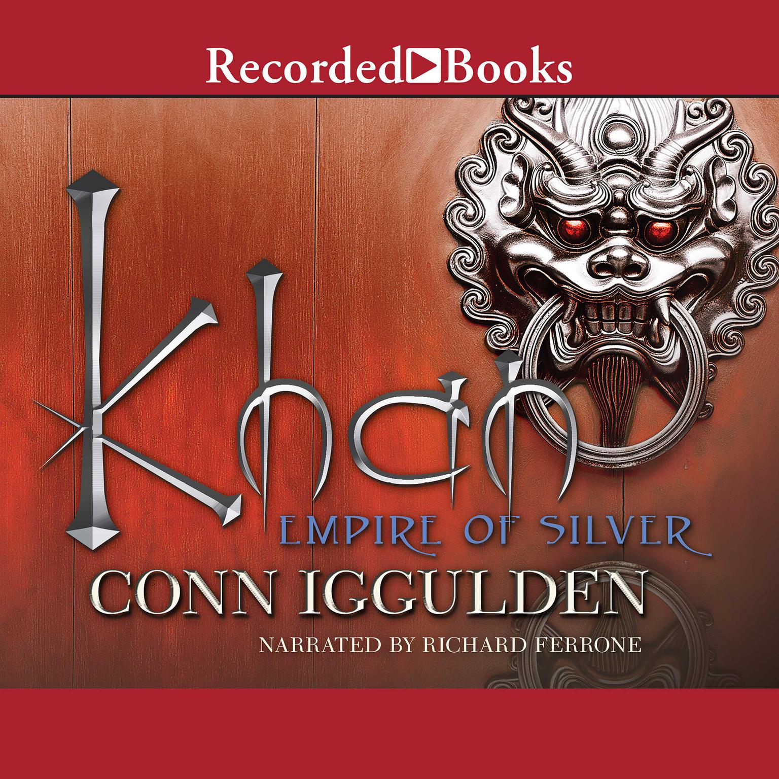 Printable Khan: Empire of Silver Audiobook Cover Art