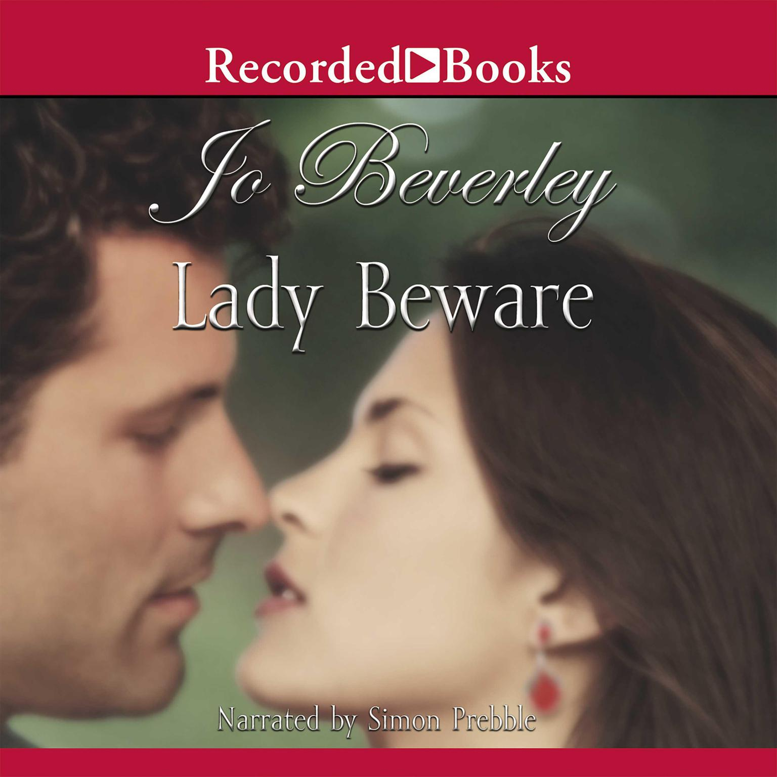Printable Lady Beware Audiobook Cover Art