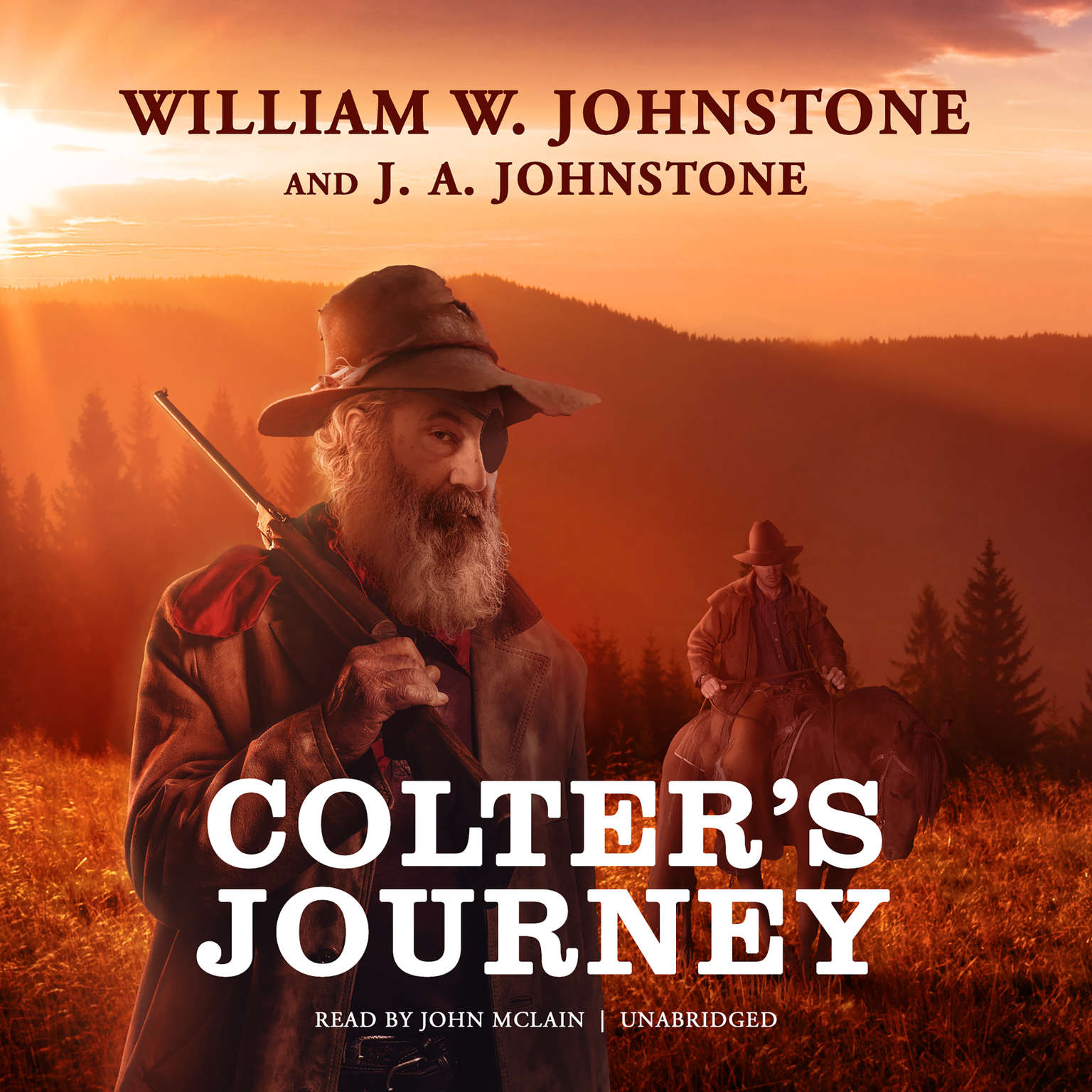 Printable Colter's Journey Audiobook Cover Art
