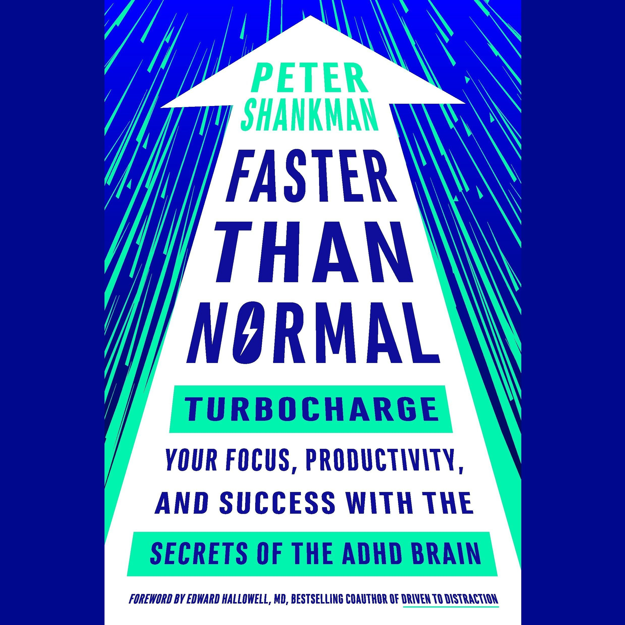 Printable Faster Than Normal: Turbocharge Your Focus, Productivity, and Success with the Secrets of the ADHD Brain Audiobook Cover Art