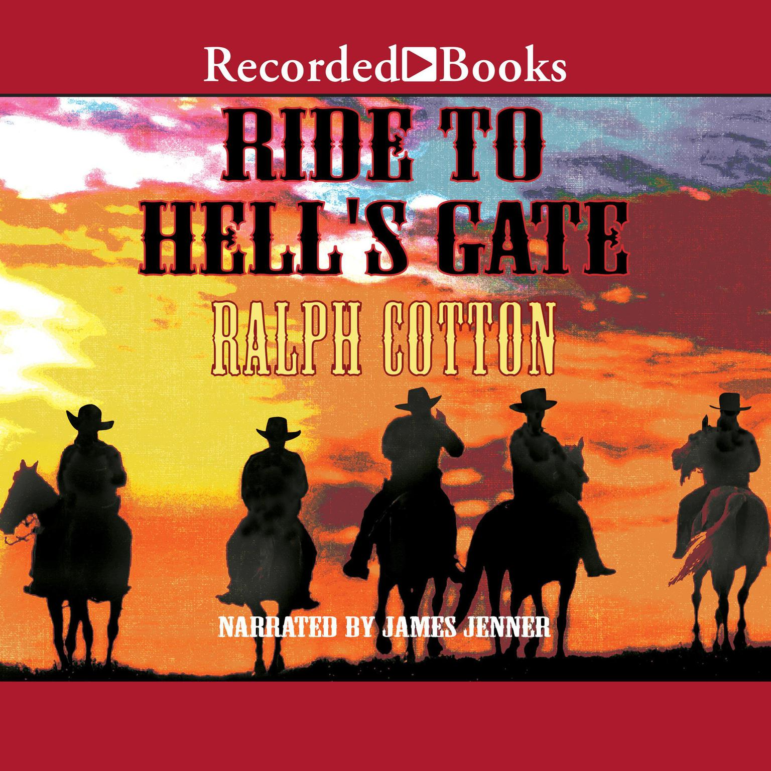 Printable Ride to Hell's Gate Audiobook Cover Art