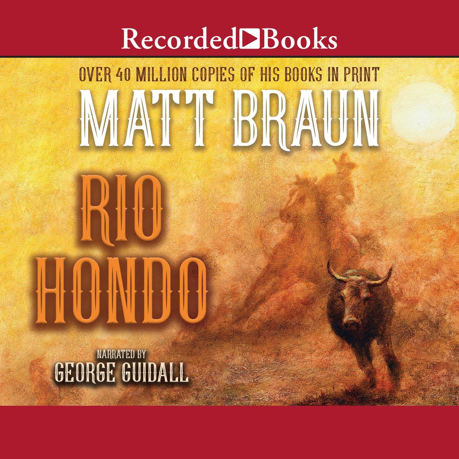 Printable Rio Hondo Audiobook Cover Art