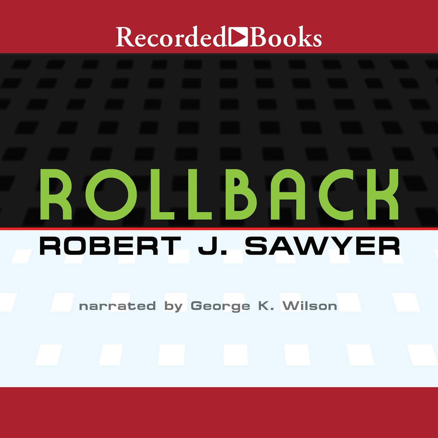 Printable Rollback Audiobook Cover Art