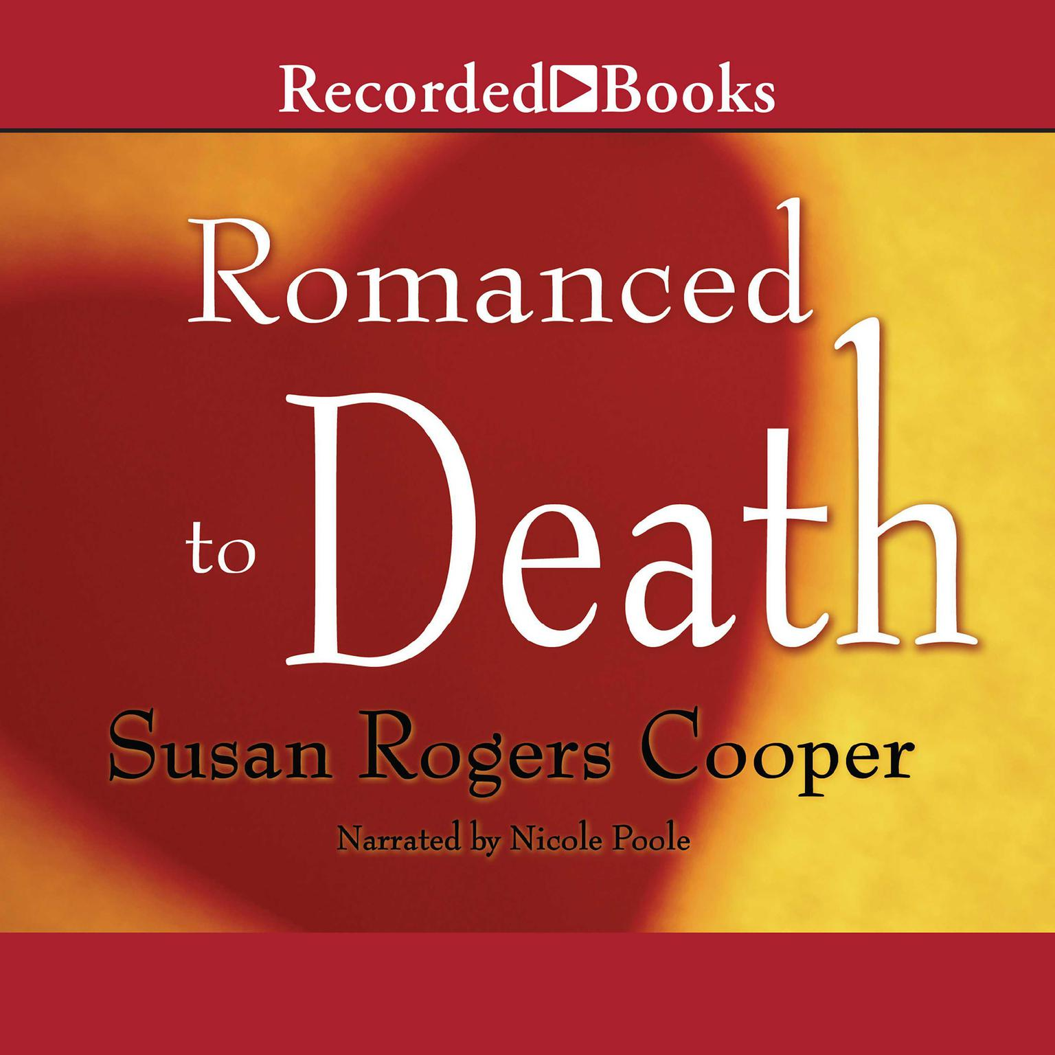 Printable Romanced to Death Audiobook Cover Art