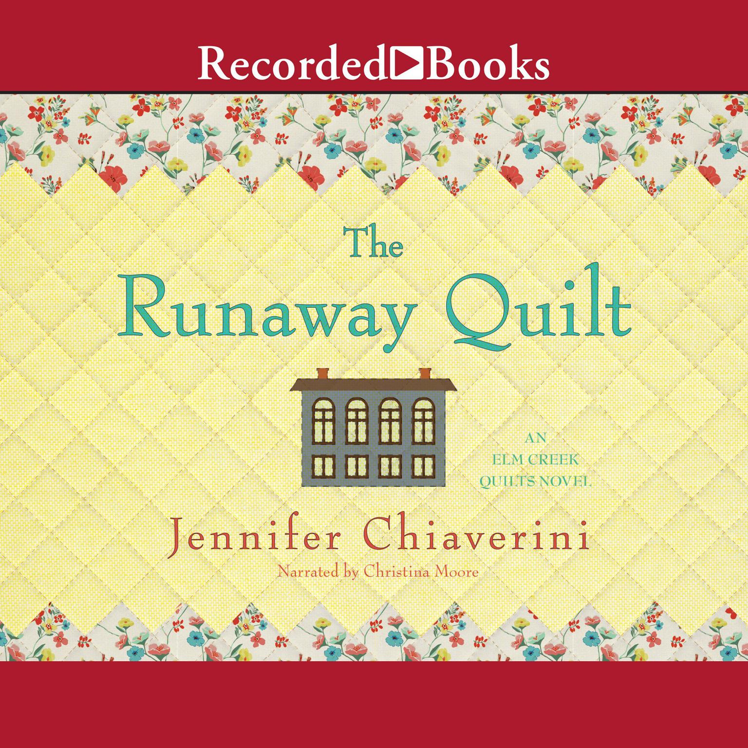 Printable The Runaway Quilt Audiobook Cover Art