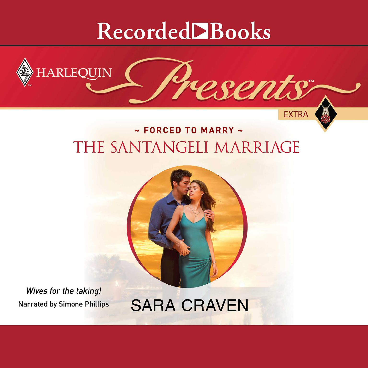 Printable The Santangeli Marriage Audiobook Cover Art