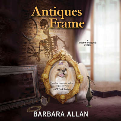 Antiques Frame Audiobook, by Barbara Allan