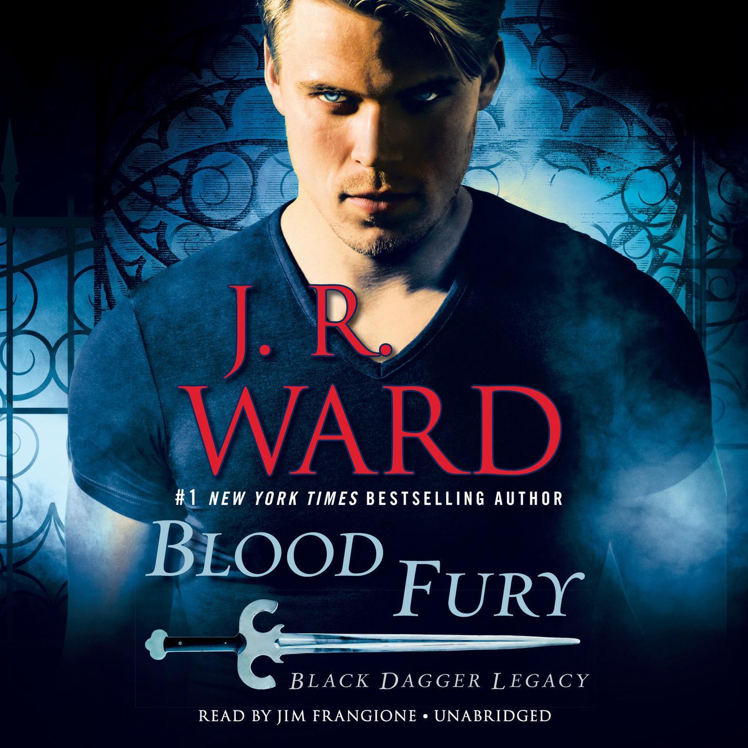 Printable Blood Fury: Black Dagger Legacy Audiobook Cover Art