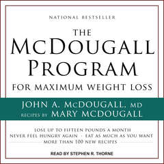 The McDougall Program for Maximum Weight Loss Audiobook, by John McDougall