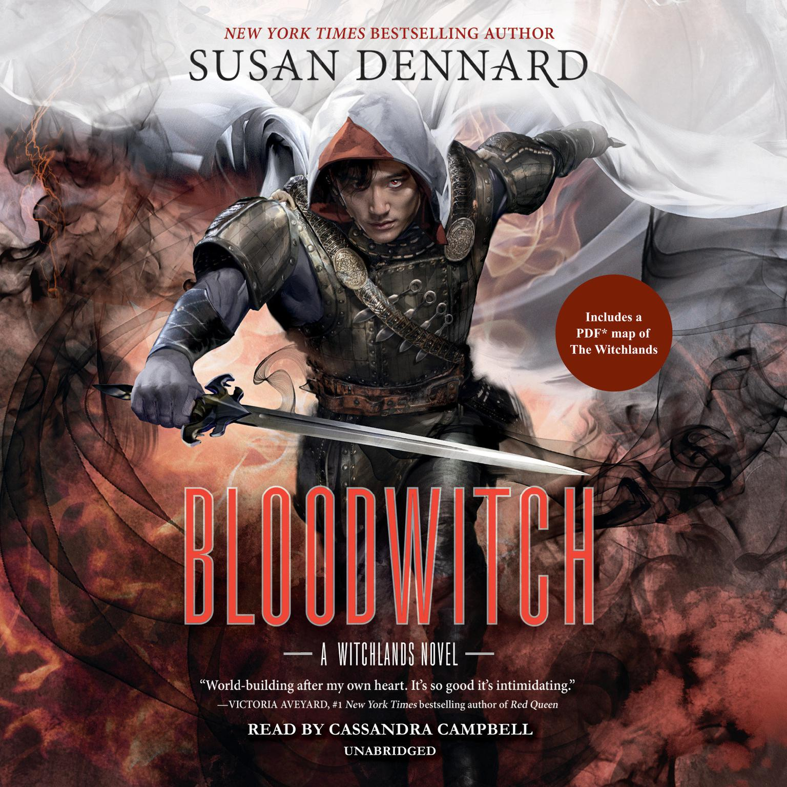 Printable Bloodwitch: Witchlands Novel Audiobook Cover Art