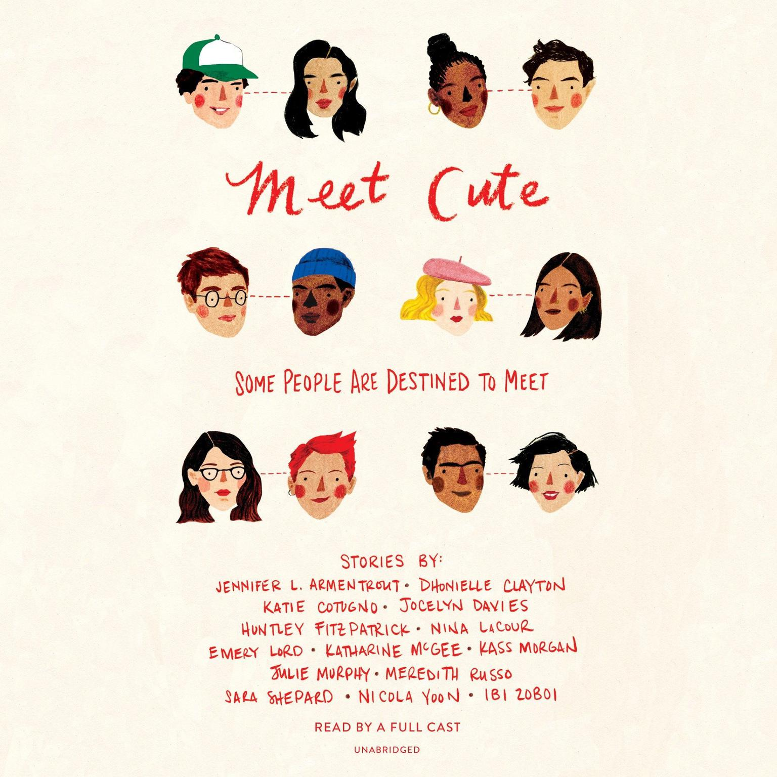 Printable Meet Cute: Some people are destined to meet.: Some People Are Destined to Meet Audiobook Cover Art
