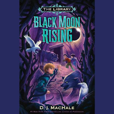 Black Moon Rising (The Library Book 2) Audiobook, by D. J. MacHale