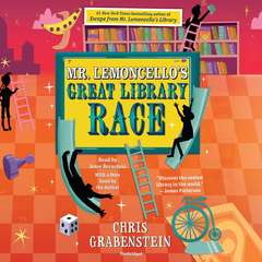 Mr. Lemoncellos Great Library Race Audiobook, by Chris Grabenstein