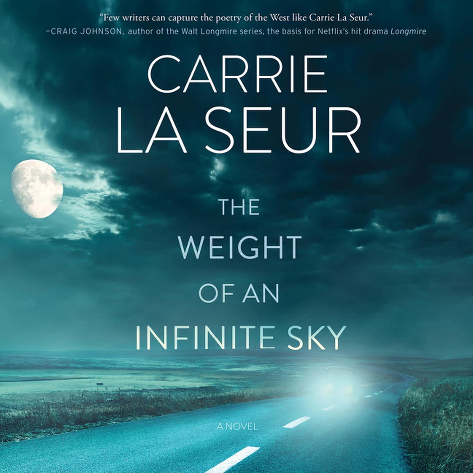 Printable The Weight of an Infinite Sky: A Novel Audiobook Cover Art
