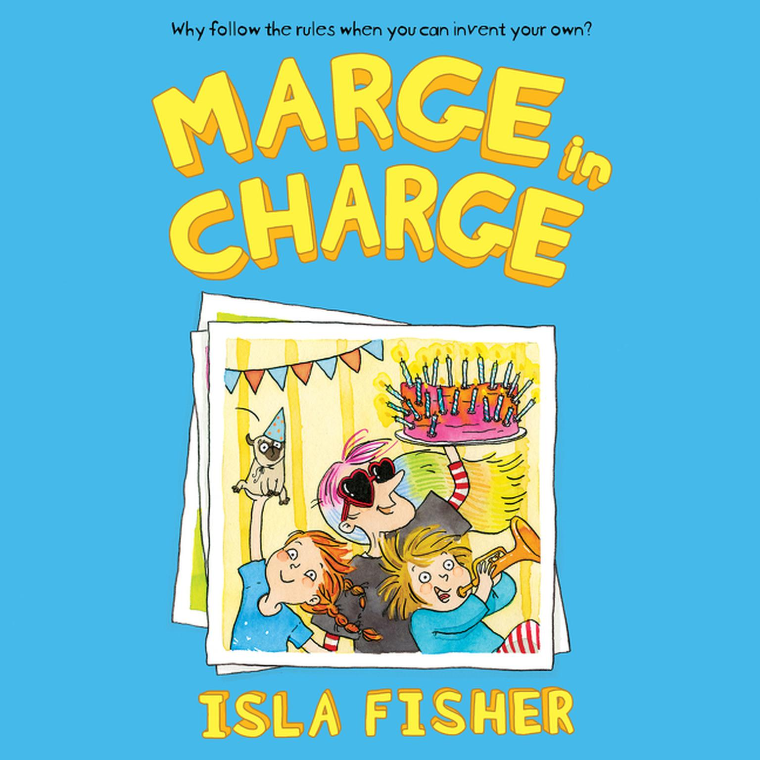 Printable Marge in Charge Audiobook Cover Art