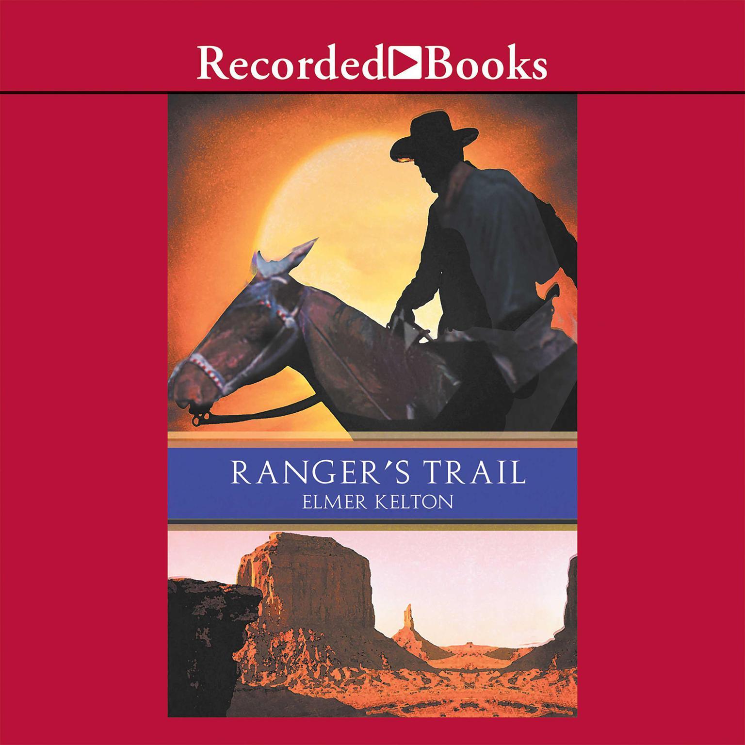 Printable Ranger's Trail Audiobook Cover Art