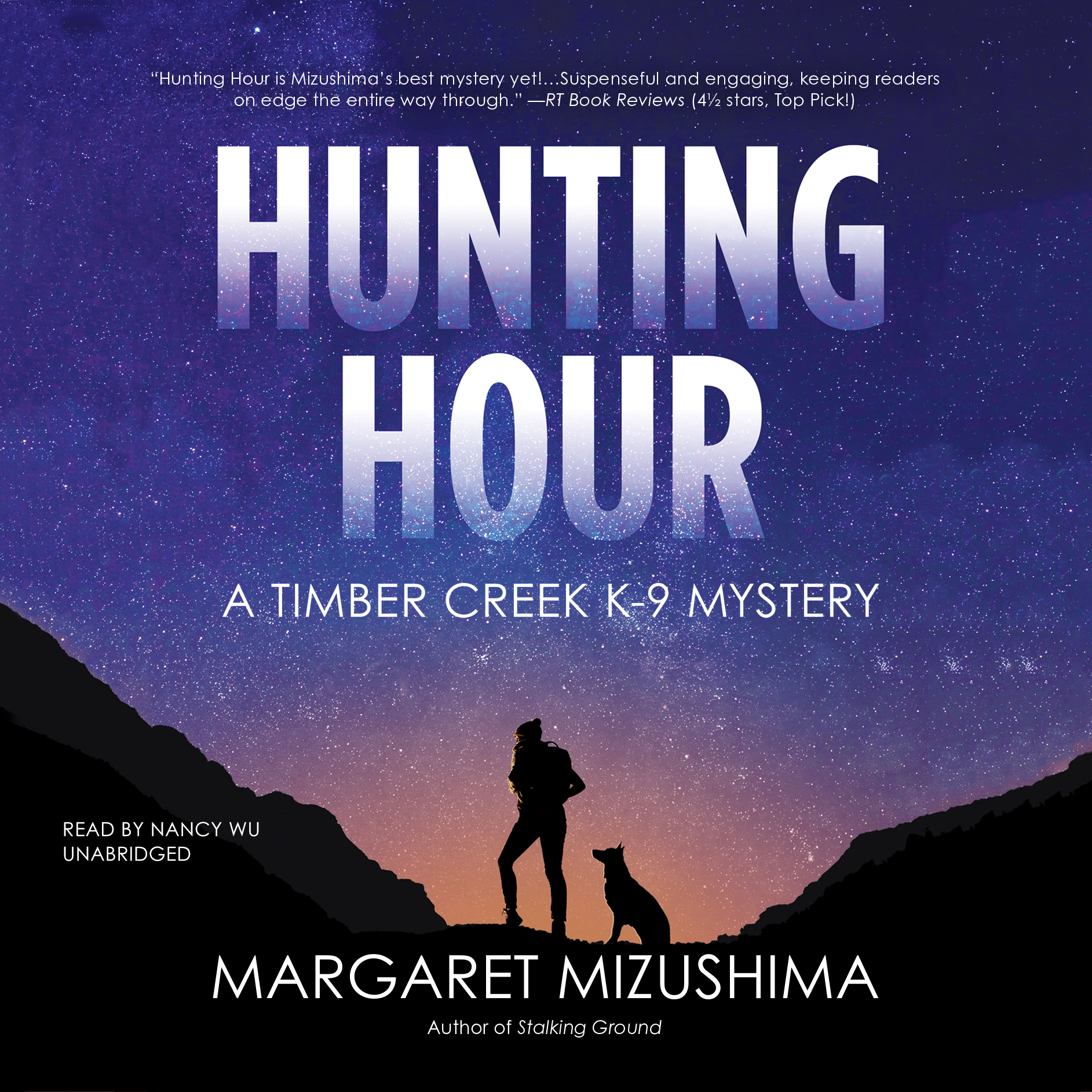 Printable Hunting Hour: A Timber Creek K-9 Mystery Audiobook Cover Art
