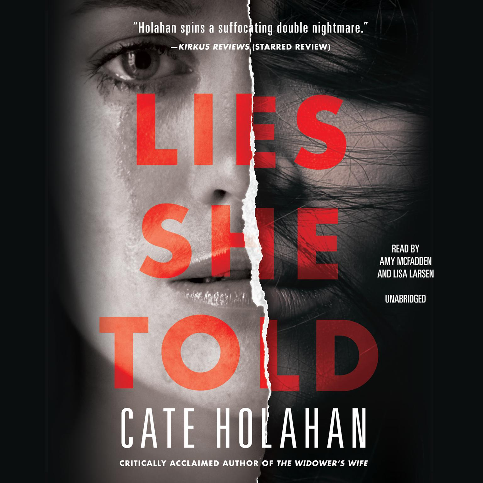 Printable Lies She Told Audiobook Cover Art