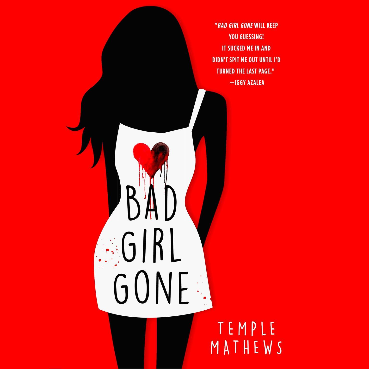 Printable Bad Girl Gone: A Novel Audiobook Cover Art