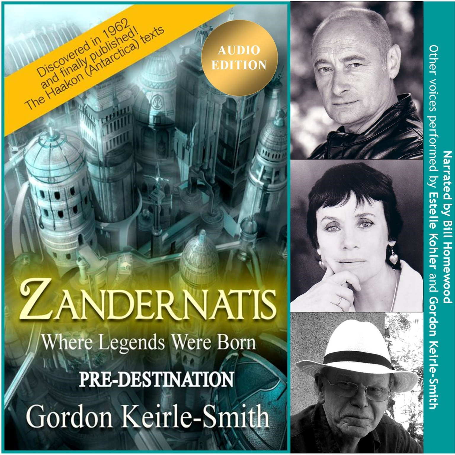 Zandernatis - Volume One - Pre-Destination Audiobook, by Gordon Keirle-Smith