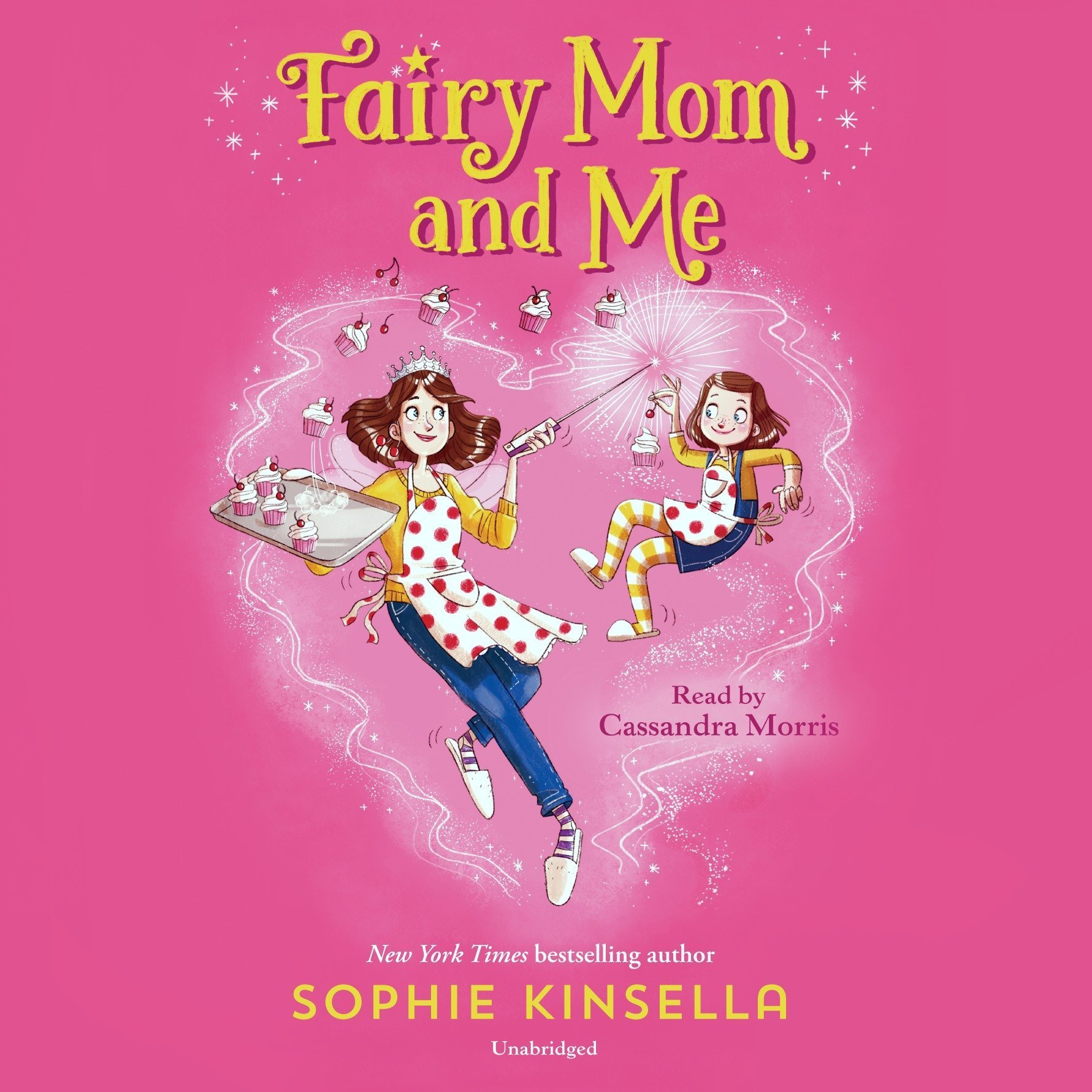 Printable Fairy Mom and Me Audiobook Cover Art