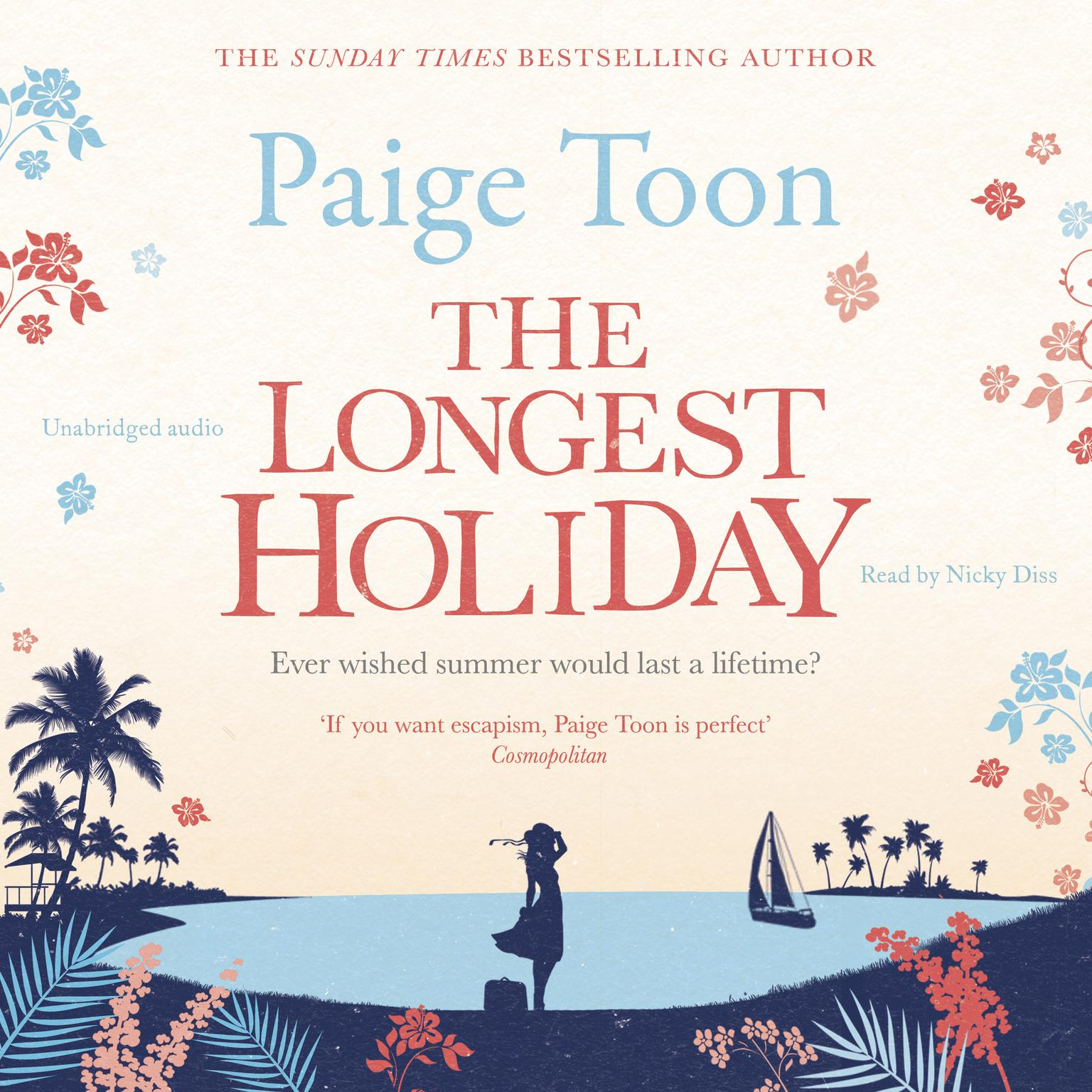 The Longest Holiday Audiobook, by Paige Toon