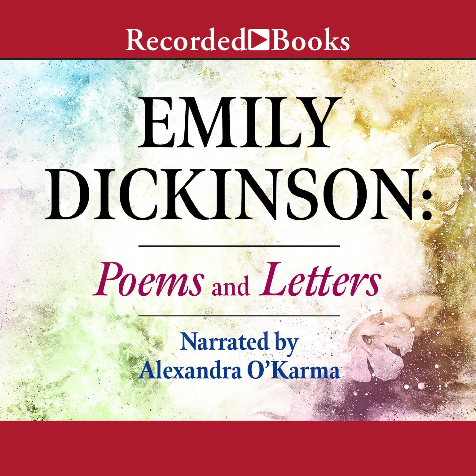 Printable Emily Dickinson: Poems and Letters Audiobook Cover Art