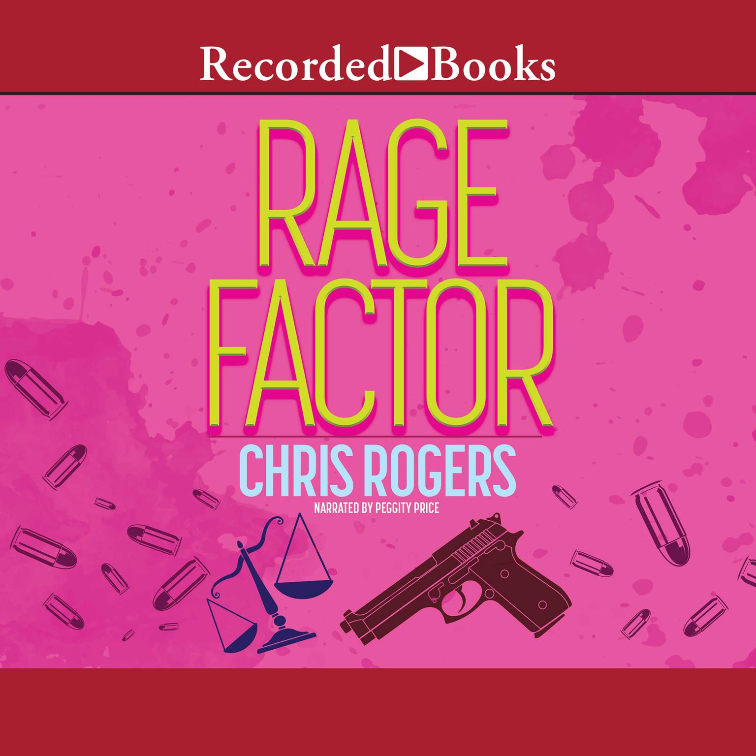 Printable Rage Factor Audiobook Cover Art