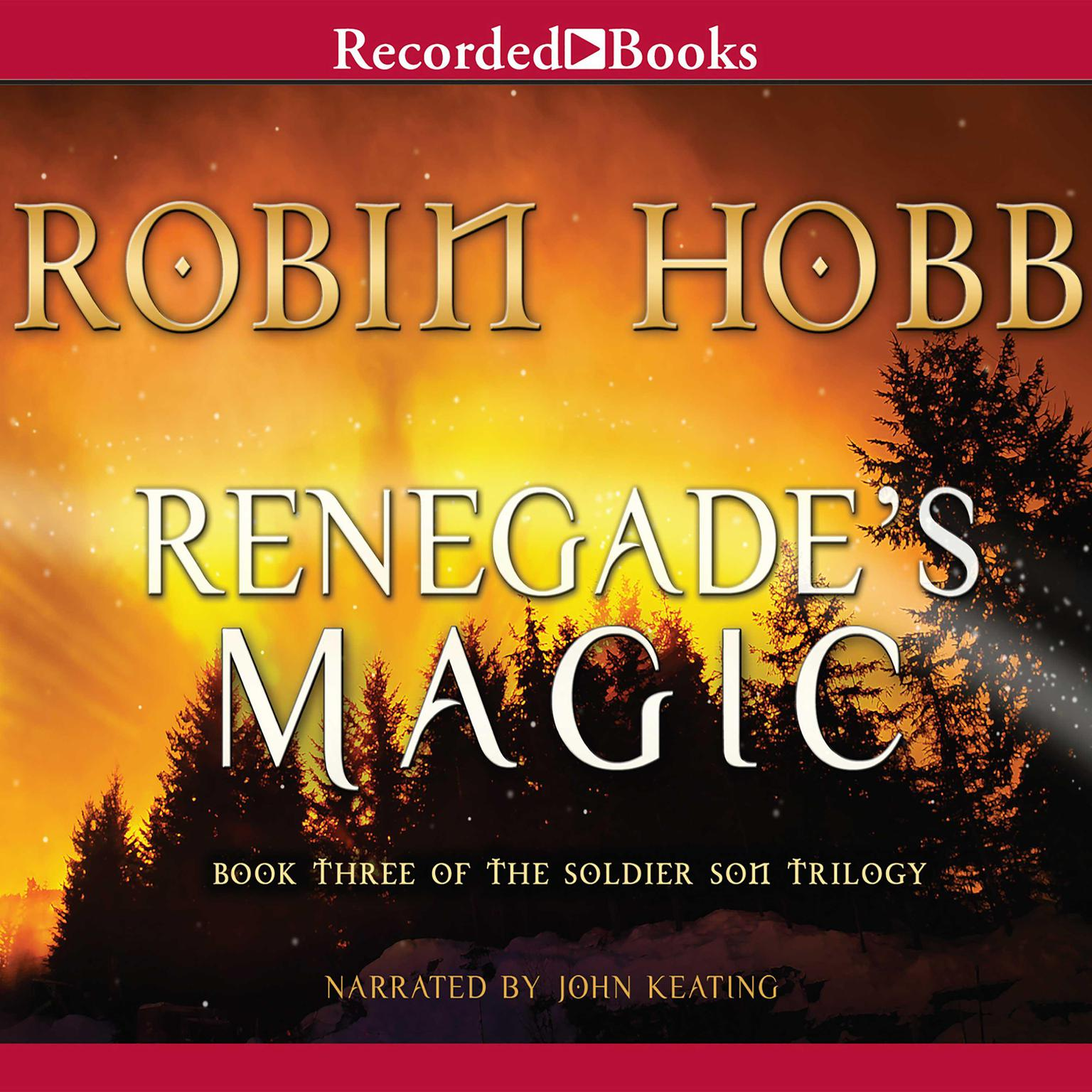 Printable Renegade's Magic Audiobook Cover Art