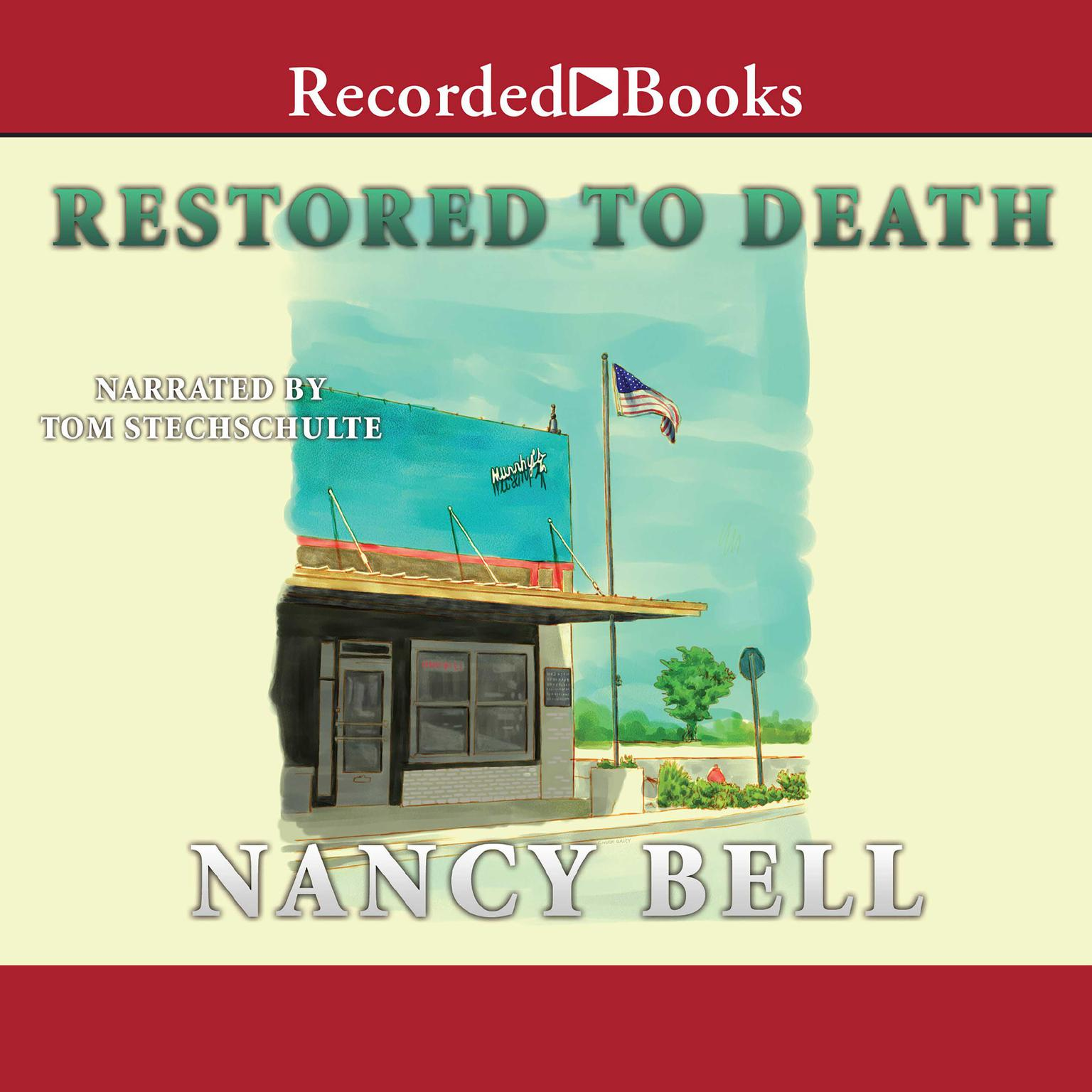 Printable Restored to Death Audiobook Cover Art